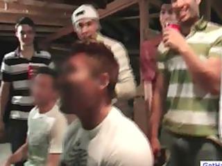 boyz get homo hazed by drunk crowd part4