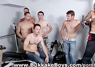hunks drilled handsome chris bareback in the gym
