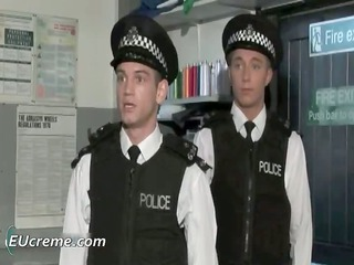 homo police receive trio strange from part7