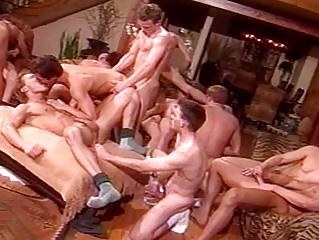 gay males having a group sex