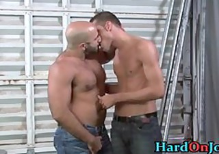 guy acquires his fine unshaved wazoo fucked part1