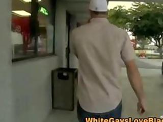 watch this public interracial oral job
