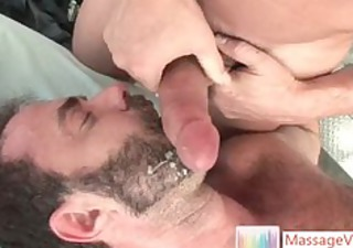 dodge wolf receives his st homosexual massage
