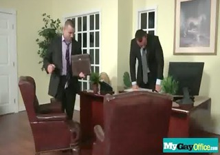 gay dudes drilled hard in the wazoo at the office