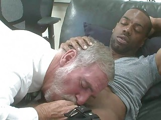 hot homo interracial with mature guy