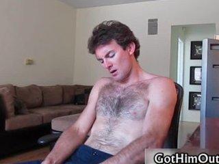 erin jerking his giant homosexual rod part6