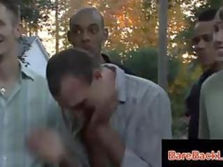 weird gay oral interracial fuckfest