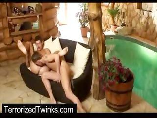 coarse twink abase