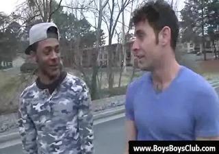 large muscled dark homo boys humiliate white