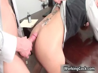 shane frost drilled and sucked in office homo clip