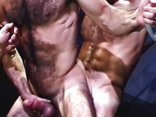 nasty gay bears having wild group sex