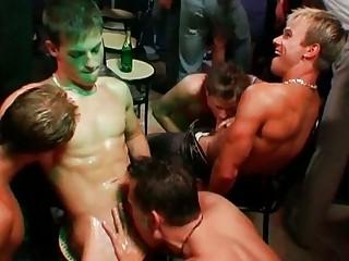 wild homosexual orgy