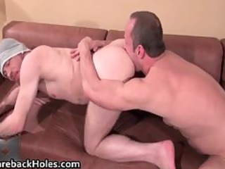 hardcore homosexual bareback fucking and jock