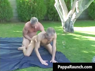older gay fellow acquires his hard dick part9