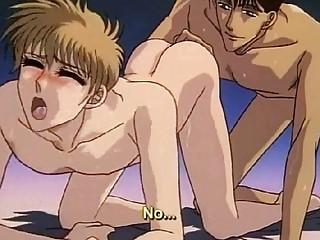 manga shy gay receives his first