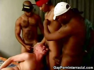 white dude gets into a group-sex