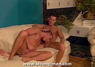 muscle hunks group sex