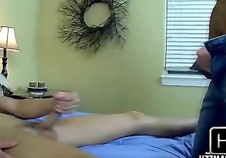 sexy twinks exchange rimjobs and head with