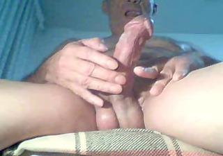 masturbating watching porn