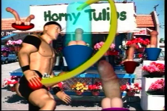 hardcore homo 3d toon sex action!