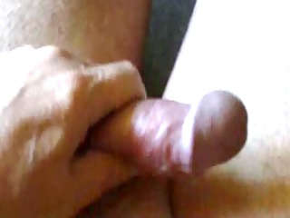 quick handjob with spunk fountain - part i