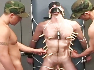 army hunks torturing and abusing their