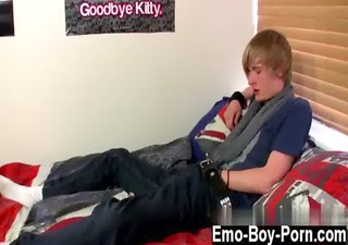 gay movie brent daley is a alluring blond emo guy