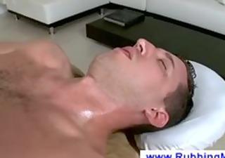 masseur licks a lads rod and gazoo