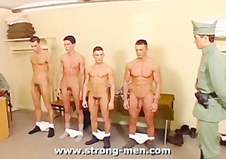 military muscle orgy