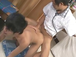 naughty bareback sex at clinic