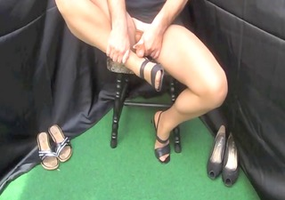 cumshots stockings foot fetish wichsen x211