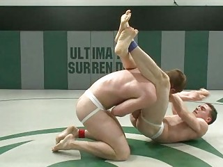 young homosexual boys wrestle for anal domination
