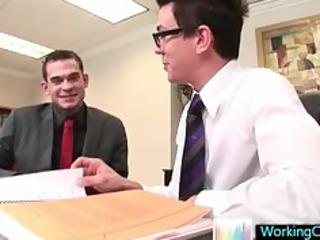seth having threesome gay porn joy with colleague