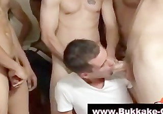 bukkake guys interracial fuckfest gets sexy