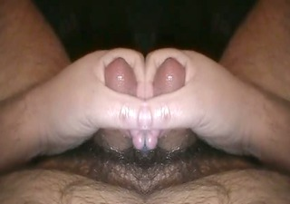 tiny cock cumming