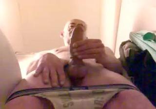 me jerk my big cock.