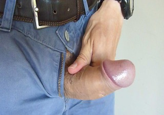 i play with my uncut schlong