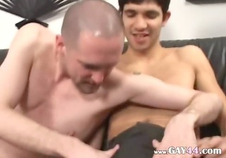 three boys sucking dicks each other