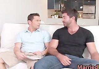 shaggy dude acquires his hard gay penus part65