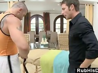 massage at home with homosexual massage lad lust
