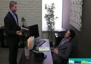 sexy chaps fuck homo boys in the office 67