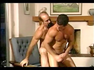 hairy daddy bonks sexy mate