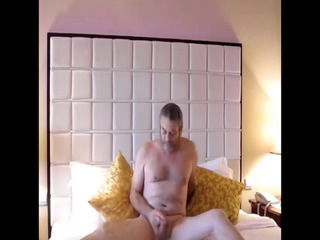 peters stripped romp and jack off on the bed