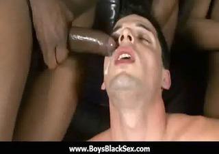 hawt black homo boyz fuck white boy-friends hard