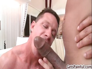 older muscle chap engulfing darksome dick part2