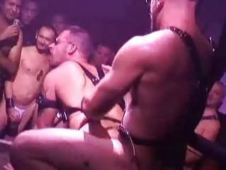 kinky gay guys having wild group sex