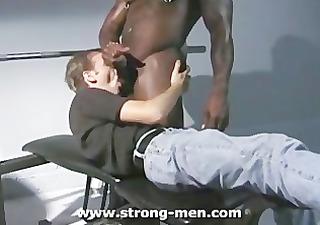 interracial muscle hardcore