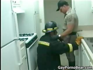 uniformed homosexual dudes have a lot of pleasure