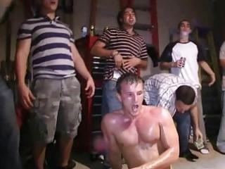 homo hazing for str guys