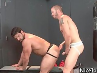 astonishing sexy homo knobs fuck arse and suck